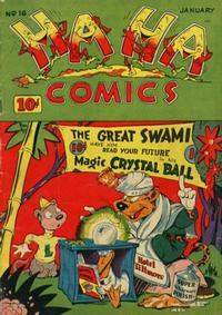 Cover Thumbnail for Ha Ha Comics (American Comics Group, 1943 series) #16
