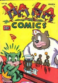 Cover Thumbnail for Ha Ha Comics (American Comics Group, 1943 series) #18
