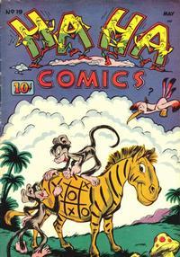 Cover Thumbnail for Ha Ha Comics (American Comics Group, 1943 series) #19