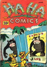Cover Thumbnail for Ha Ha Comics (American Comics Group, 1943 series) #20