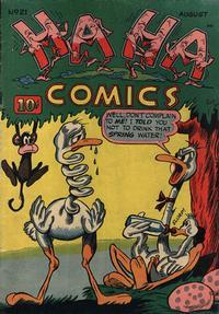 Cover Thumbnail for Ha Ha Comics (American Comics Group, 1943 series) #21