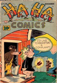 Cover Thumbnail for Ha Ha Comics (American Comics Group, 1943 series) #23