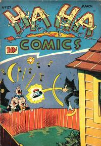 Cover Thumbnail for Ha Ha Comics (American Comics Group, 1943 series) #27