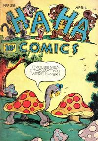 Cover Thumbnail for Ha Ha Comics (American Comics Group, 1943 series) #28