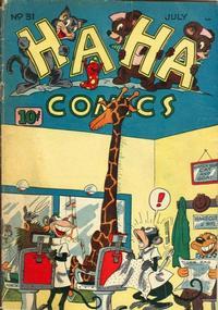 Cover Thumbnail for Ha Ha Comics (American Comics Group, 1943 series) #31