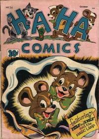 Cover Thumbnail for Ha Ha Comics (American Comics Group, 1943 series) #34