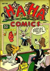 Cover Thumbnail for Ha Ha Comics (American Comics Group, 1943 series) #35