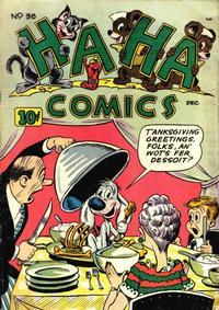 Cover Thumbnail for Ha Ha Comics (American Comics Group, 1943 series) #36