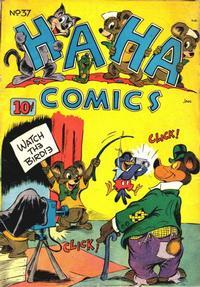 Cover Thumbnail for Ha Ha Comics (American Comics Group, 1943 series) #37