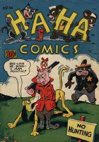 Cover Thumbnail for Ha Ha Comics (American Comics Group, 1943 series) #38