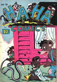 Cover Thumbnail for Ha Ha Comics (American Comics Group, 1943 series) #39