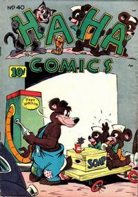Cover Thumbnail for Ha Ha Comics (American Comics Group, 1943 series) #40