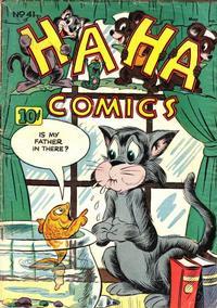 Cover Thumbnail for Ha Ha Comics (American Comics Group, 1943 series) #41