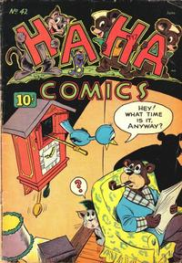 Cover Thumbnail for Ha Ha Comics (American Comics Group, 1943 series) #42
