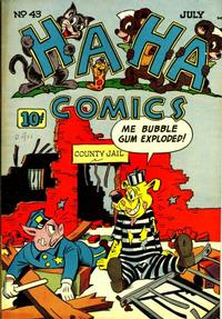 Cover Thumbnail for Ha Ha Comics (American Comics Group, 1943 series) #43
