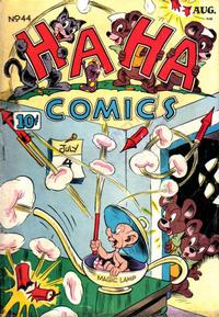 Cover Thumbnail for Ha Ha Comics (American Comics Group, 1943 series) #44