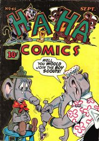 Cover Thumbnail for Ha Ha Comics (American Comics Group, 1943 series) #45