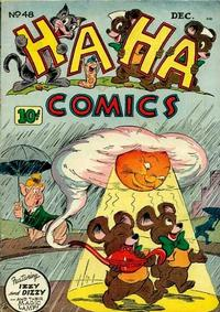Cover Thumbnail for Ha Ha Comics (American Comics Group, 1943 series) #48