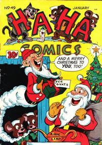 Cover Thumbnail for Ha Ha Comics (American Comics Group, 1943 series) #49
