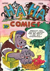 Cover Thumbnail for Ha Ha Comics (American Comics Group, 1943 series) #50