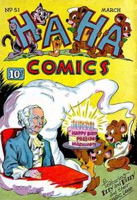 Cover Thumbnail for Ha Ha Comics (American Comics Group, 1943 series) #51