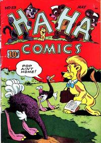 Cover Thumbnail for Ha Ha Comics (American Comics Group, 1943 series) #53
