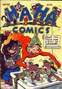 Cover Thumbnail for Ha Ha Comics (American Comics Group, 1943 series) #56