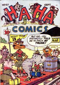 Cover Thumbnail for Ha Ha Comics (American Comics Group, 1943 series) #57