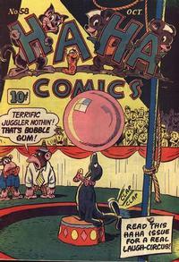 Cover Thumbnail for Ha Ha Comics (American Comics Group, 1943 series) #58