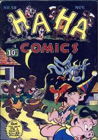 Cover Thumbnail for Ha Ha Comics (American Comics Group, 1943 series) #59