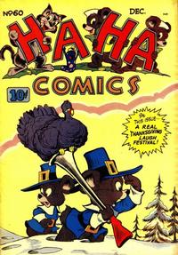 Cover Thumbnail for Ha Ha Comics (American Comics Group, 1943 series) #60