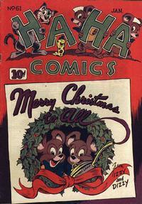 Cover Thumbnail for Ha Ha Comics (American Comics Group, 1943 series) #61