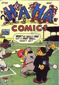 Cover Thumbnail for Ha Ha Comics (American Comics Group, 1943 series) #65