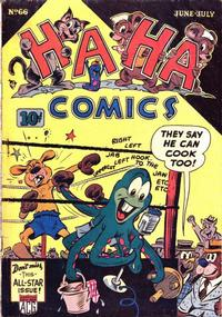 Cover Thumbnail for Ha Ha Comics (American Comics Group, 1943 series) #66