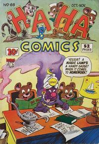 Cover Thumbnail for Ha Ha Comics (American Comics Group, 1943 series) #68