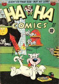 Cover Thumbnail for Ha Ha Comics (American Comics Group, 1943 series) #72