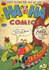Cover Thumbnail for Ha Ha Comics (American Comics Group, 1943 series) #74