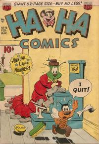 Cover Thumbnail for Ha Ha Comics (American Comics Group, 1943 series) #76