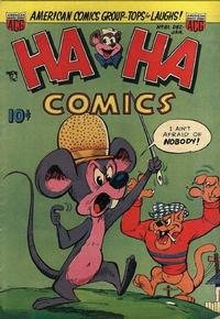 Cover Thumbnail for Ha Ha Comics (American Comics Group, 1943 series) #81