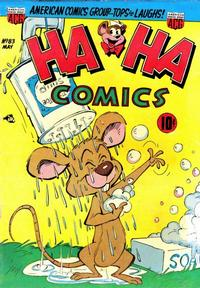 Cover Thumbnail for Ha Ha Comics (American Comics Group, 1943 series) #83
