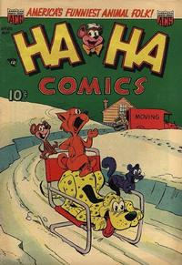 Cover Thumbnail for Ha Ha Comics (American Comics Group, 1943 series) #89