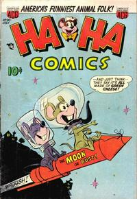 Cover Thumbnail for Ha Ha Comics (American Comics Group, 1943 series) #90