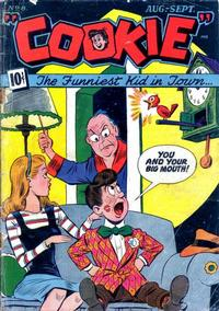 Cover Thumbnail for Cookie (American Comics Group, 1946 series) #8