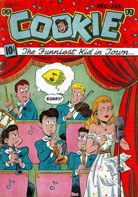 Cover Thumbnail for Cookie (American Comics Group, 1946 series) #10