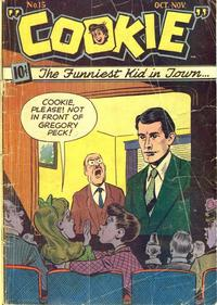 Cover Thumbnail for Cookie (American Comics Group, 1946 series) #15