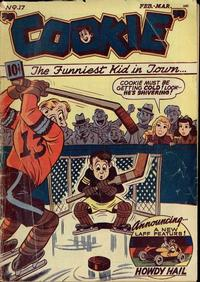 Cover Thumbnail for Cookie (American Comics Group, 1946 series) #17