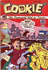 Cover Thumbnail for Cookie (American Comics Group, 1946 series) #21