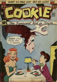 Cover Thumbnail for Cookie (American Comics Group, 1946 series) #24