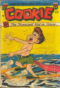 Cover Thumbnail for Cookie (American Comics Group, 1946 series) #38