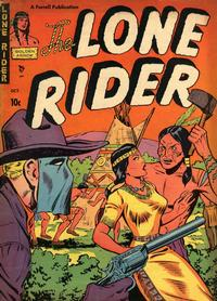 Cover Thumbnail for The Lone Rider (Farrell, 1951 series) #4